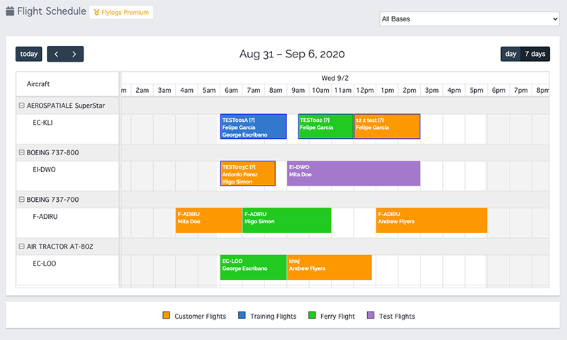 flight scheduling tool